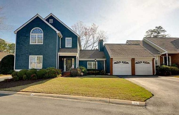 Craftsman Style Attached Home Atlanta