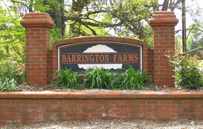Canton Georgia Living In Barrington Farms Community